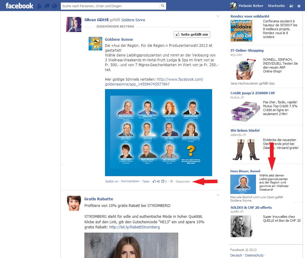verlosungen auf facebook