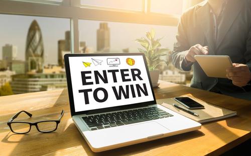 Gewinnspiele online bewerben